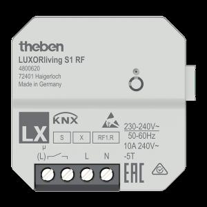 4800620 LUXORliving S1 RF - 1-way wireless flush-mounted switch actuator