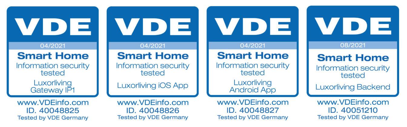 Bezpieczeństwo Sprawdzone Przez VDE: System Inteligentnego Domu Theben LUXORliving Posiada Certyfikat VDE